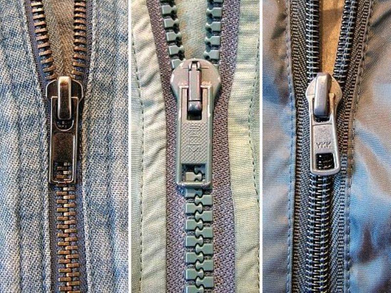 Как сделать молнию для одежды