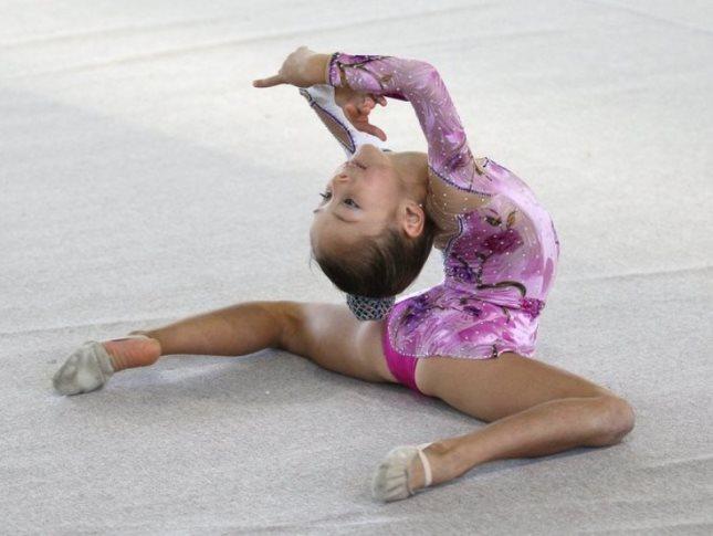 Юные гимнастки фото эротика.